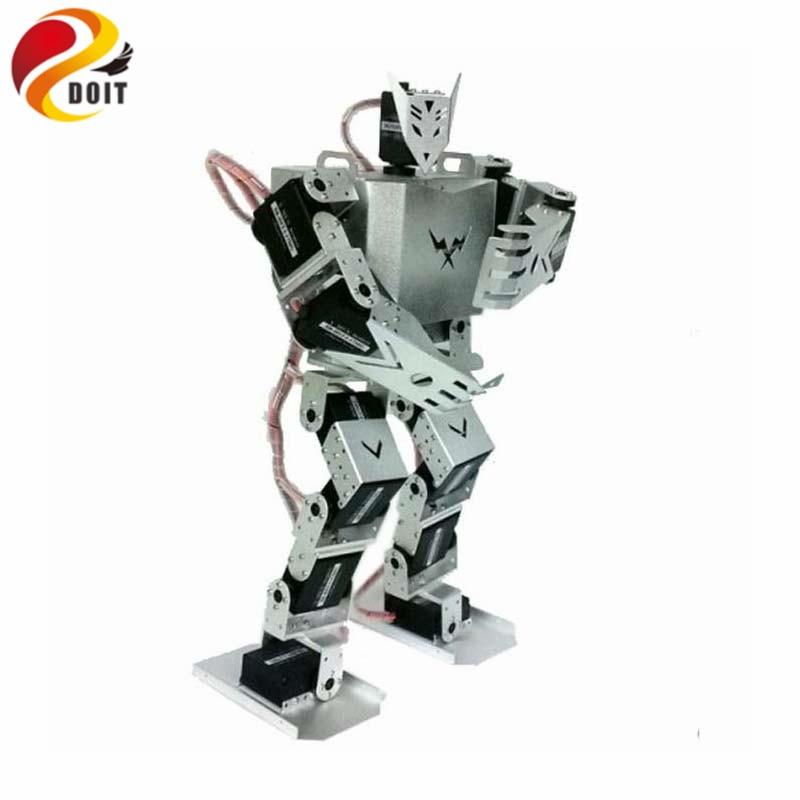 DOIT Humanoid Robot Biped Robotic med 17st Servos för DIY Robot Project