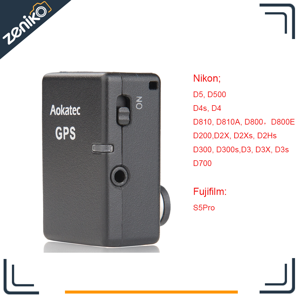 New Version Aokatec AK-G1s GPS Receiver for Nikon D5 D500 D4s D4 D810 D810A D800 D800E D200 D300 D300s D700 D2X D2Xs D3 D3X D3s