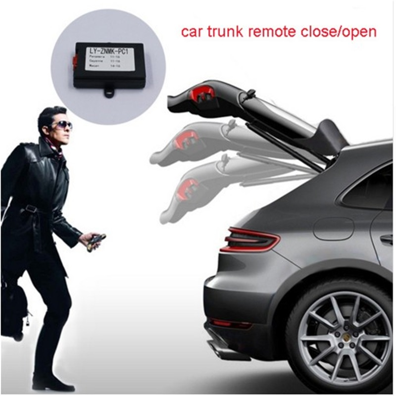 Car trunk closer window Closer module Folding Rear Mirror and Close Sunroof and more function for Porsche Cayenne/Panamera/Macan car side mirror folder folding spread kit window closer gear lock for honda accord eighth ninth generation free shipping