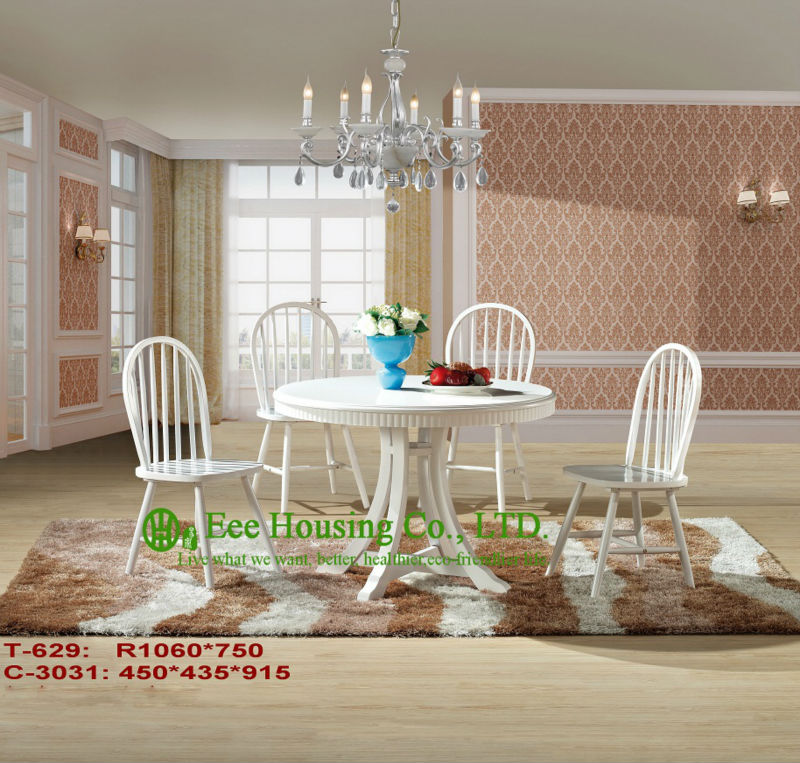 T-629,C-3031    Luxurious Solid Dining Chair,Solid Wood Dinning Table Furniture With Chairs/Home Furniture