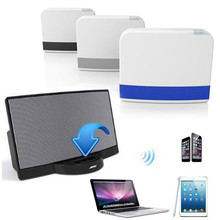 Newest 30Pin Dock Speaker Bluetooth Music Receiver Adapter For iPhone iPod BK Free Shipping H1T07