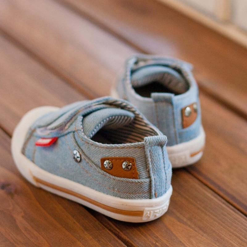 Kinder canvas schoenen 2018 lente kinder canvas casual Non-slip - Kinderschoenen - Foto 3