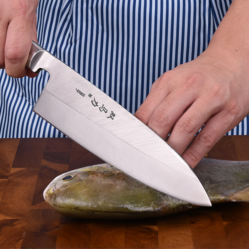 Shuangmali ญี่ปุ่นมีด Sashimi Sushi มีดครัว Salmon Fish Filleting เหล็กมีดเนื้อ Clever Cutter หั่นเครื่องมือห้องครัว-ใน มีดครัว จาก บ้านและสวน บน AliExpress - 11.11_สิบเอ็ด สิบเอ็ดวันคนโสด 1