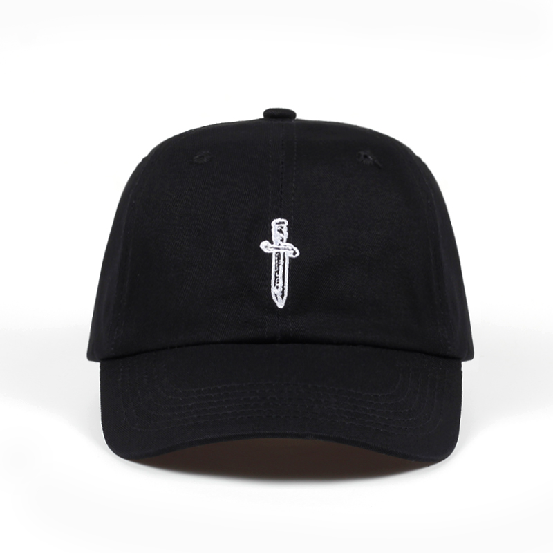 2018 new Cotton   Baseball     Cap   Sword embroidery Trucker Hats For Women Men Fashion Snapback   Caps   Hip Hop Dad Hat