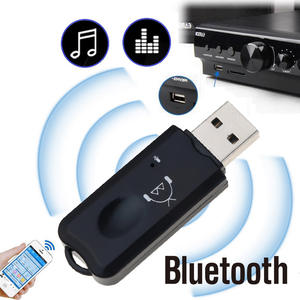 kebidumei USB Bluetooth Stereo Audio Music Wireless Receiver V2.1 Handsfree bluetooth Adapter Dongle Kit for Speaker for iphone