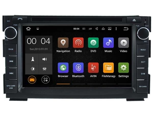 Android 7.1 Voiture Dvd Navi Lecteur POUR KIA CEED (2010-2012)/VENGA audio multimédia auto stéréo soutien DVR WIFI DAB OBD tout en un