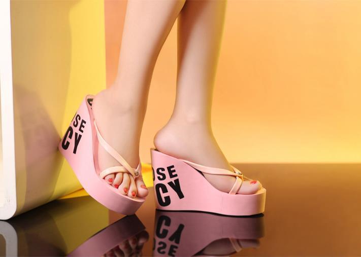 heels women shoes flip flops female