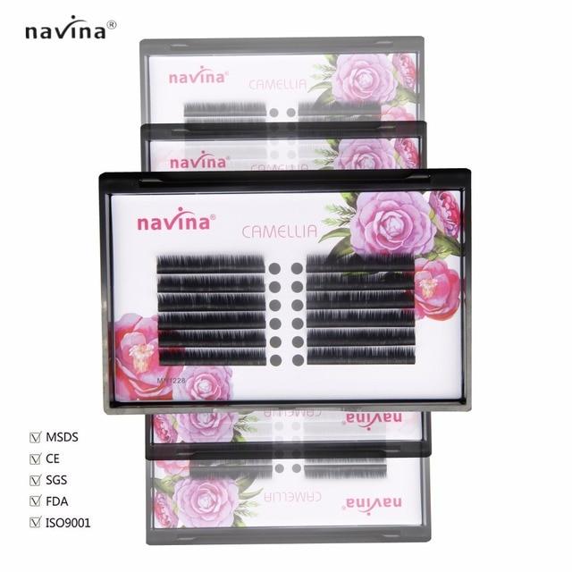 Navina 2017 Individual Eyelash Extension Faux Mink Eyelashes