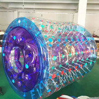 Free Shipping Inflatable Water Roller Balls, Water Walking Ball Toys Zorb Ball Free One Pump