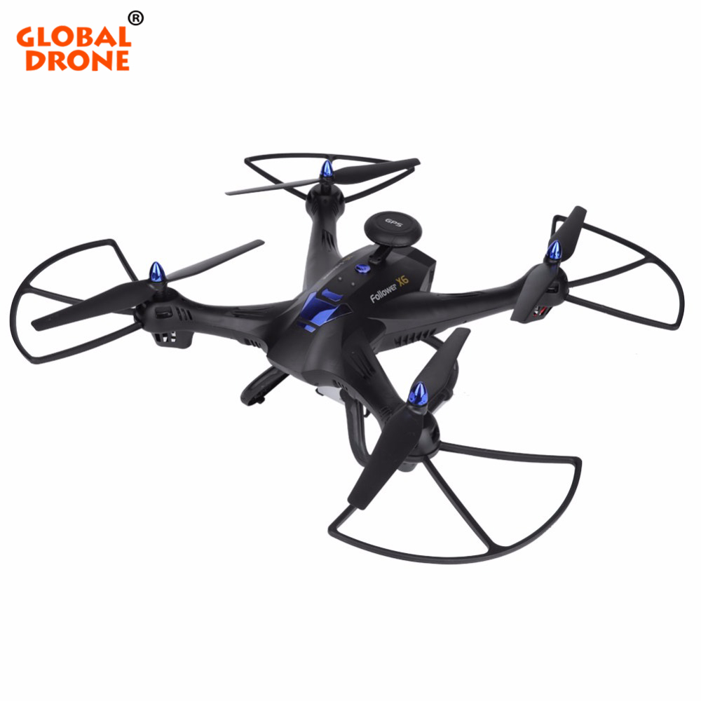 Global Drone X183 Professional GPS Drones Auto Follow RC Helicopter GPS Quadrocopter with 1080P HD Camera VS Hubsan H501S hubsan drones h501s gps quadrocopter uav remote control aircraft 1080p hd aerial with follow modul drones