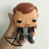 SDCC Original imperfect Funko pop FUNDAYS THE WALKING DEAD BIKER DARYL FREDDY Vinyl Action Figure Collectible Model Loose Toy