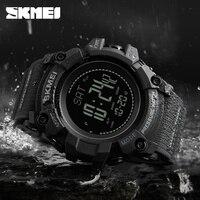 SKMEI Men Sports Watches Altimeter Pressure Thermomet Weather Pedometer Calories Compass Men Watch Waterproof Digital Wristwatch