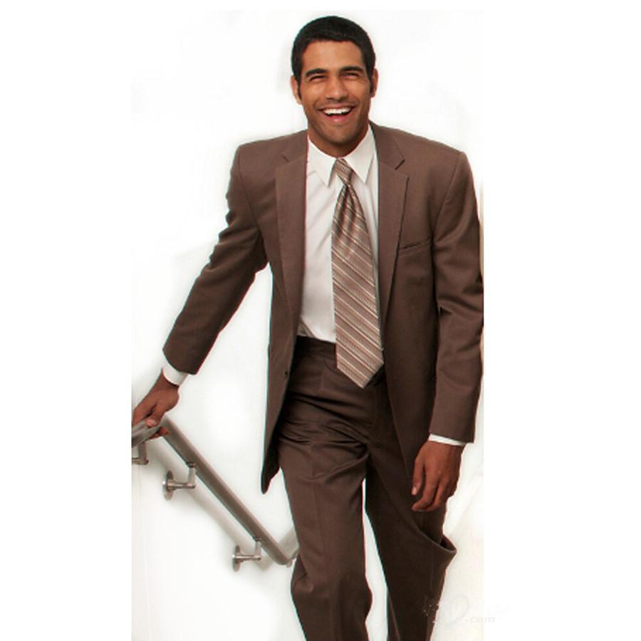 Men Suits for Wedding Brown Promotion-Shop for Promotional Men