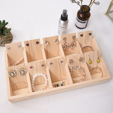 Big Wood Jewelry Box  Display Stand  Earring Ring Box Jewelry Box Holder Display Organizer Case for Jewelry Gift Box Organizer
