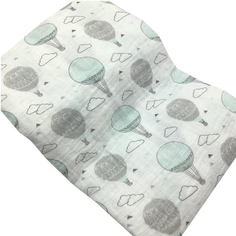 100% Cotton Muslin Baby Blanket For Newborn Cats Super Soft Blankets 120x120cm Swaddle Bedding Bath Towel Gauze Cloth