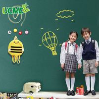 Green Drawing Board Toys Removable Erasable Drawing Graffiti Writing Learning Message Chalk Board Toy Kids Child Teaching Aids