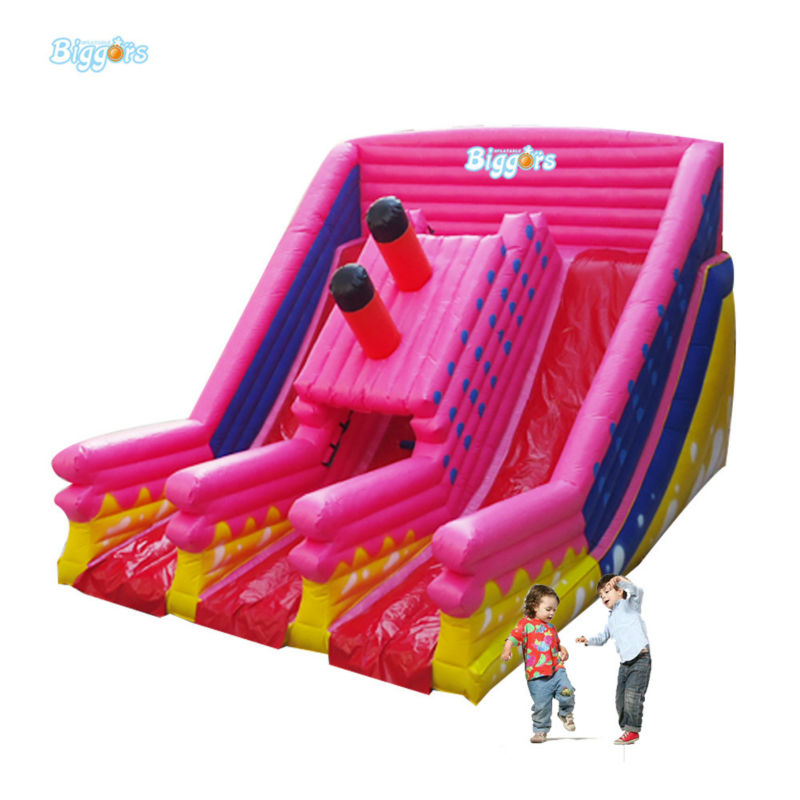 Newest Design Commercial Grade Inflatable Dual Land Slide For Rental long huge arch type inflatable tents for commercial rental