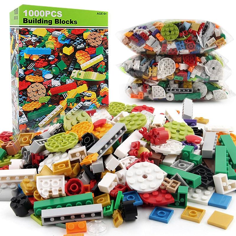 1000kpl Rakennuspalikat Tiilet 3D-rakennuttajat Educational Set - Rakentaminen lelut - Valokuva 3