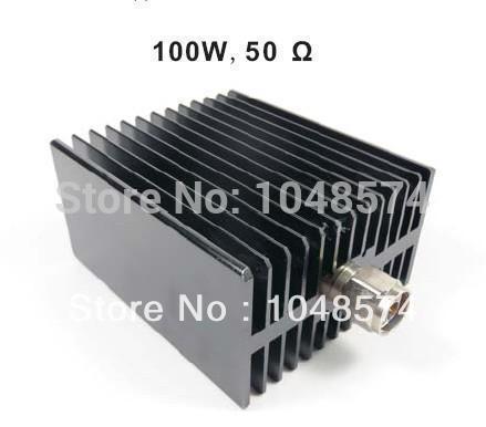 Free Shipping N Male 50 Ohm DC-3GHz 100W Dummy Load
