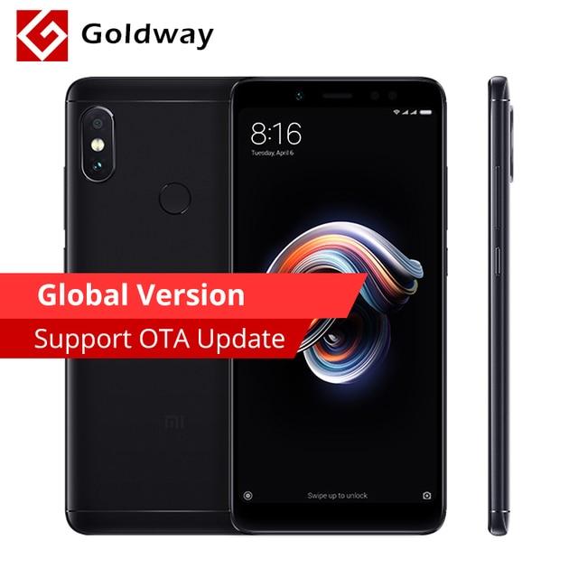 "Pre-Sale Global Version Original Xiaomi Redmi Note 5 4GB RAM 64GB ROM SmartPhone Snapdragon 636 Octa Core 5.99"" 18:9 Full Screen"