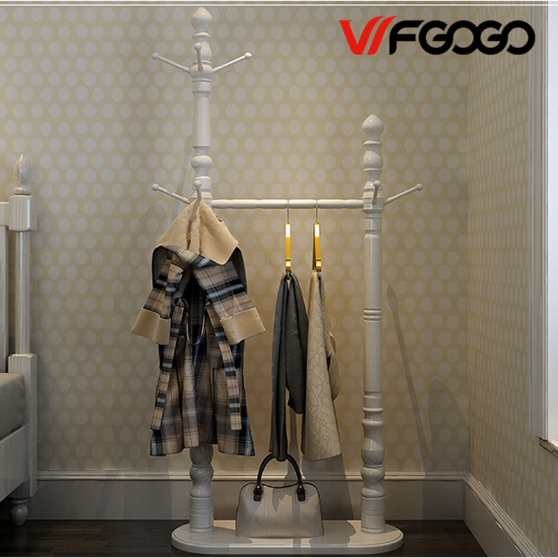WFGOGO Home Furnishing Solid wooden Living Coat Rack Stands Scarves Hats Bags Clothes Shelf стойка для акустики waterfall подставка под акустику shelf stands hurricane black