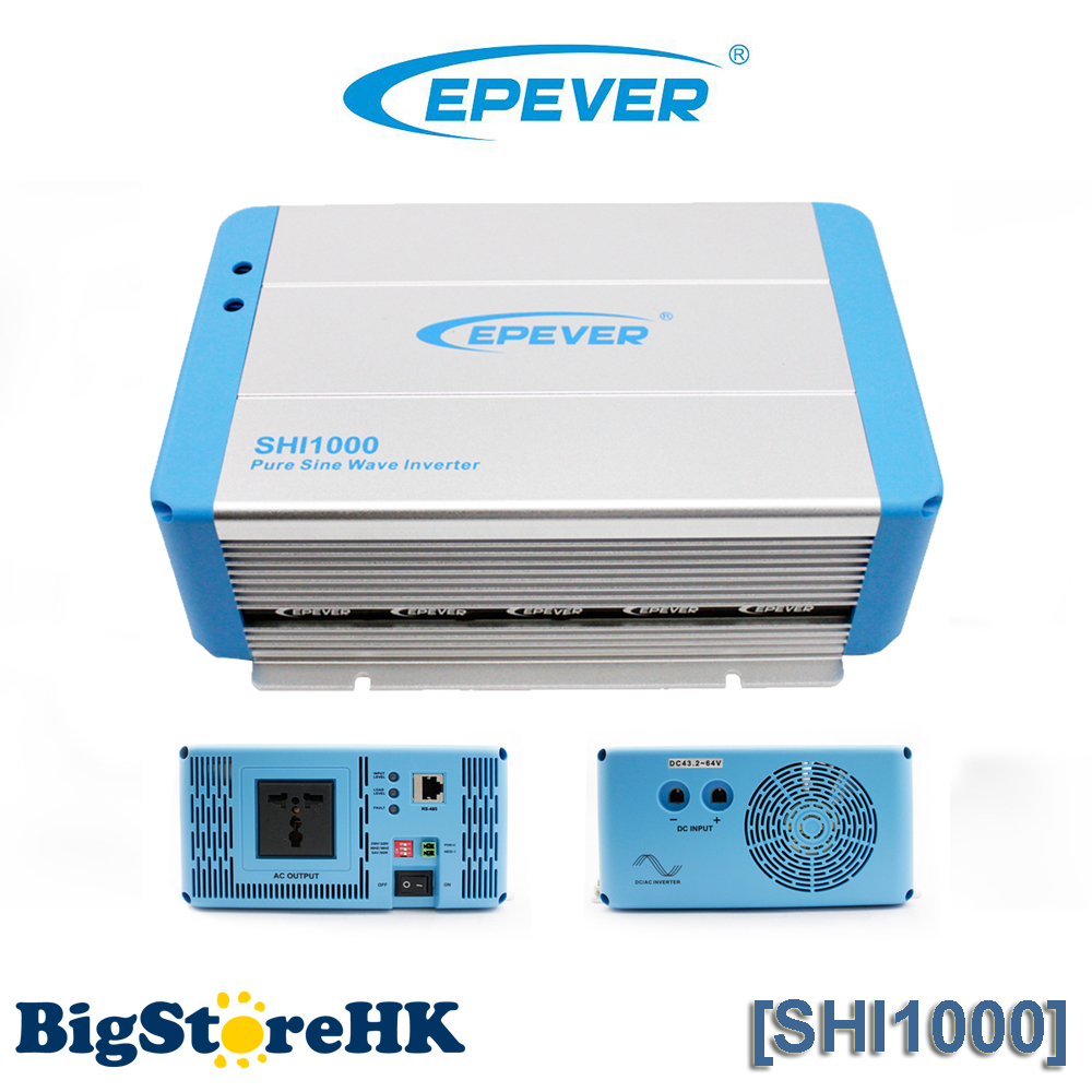 цена на 1000W EPever Pure Sine Wave Inverter 24VDC to 220VAC Solar Power Inverter