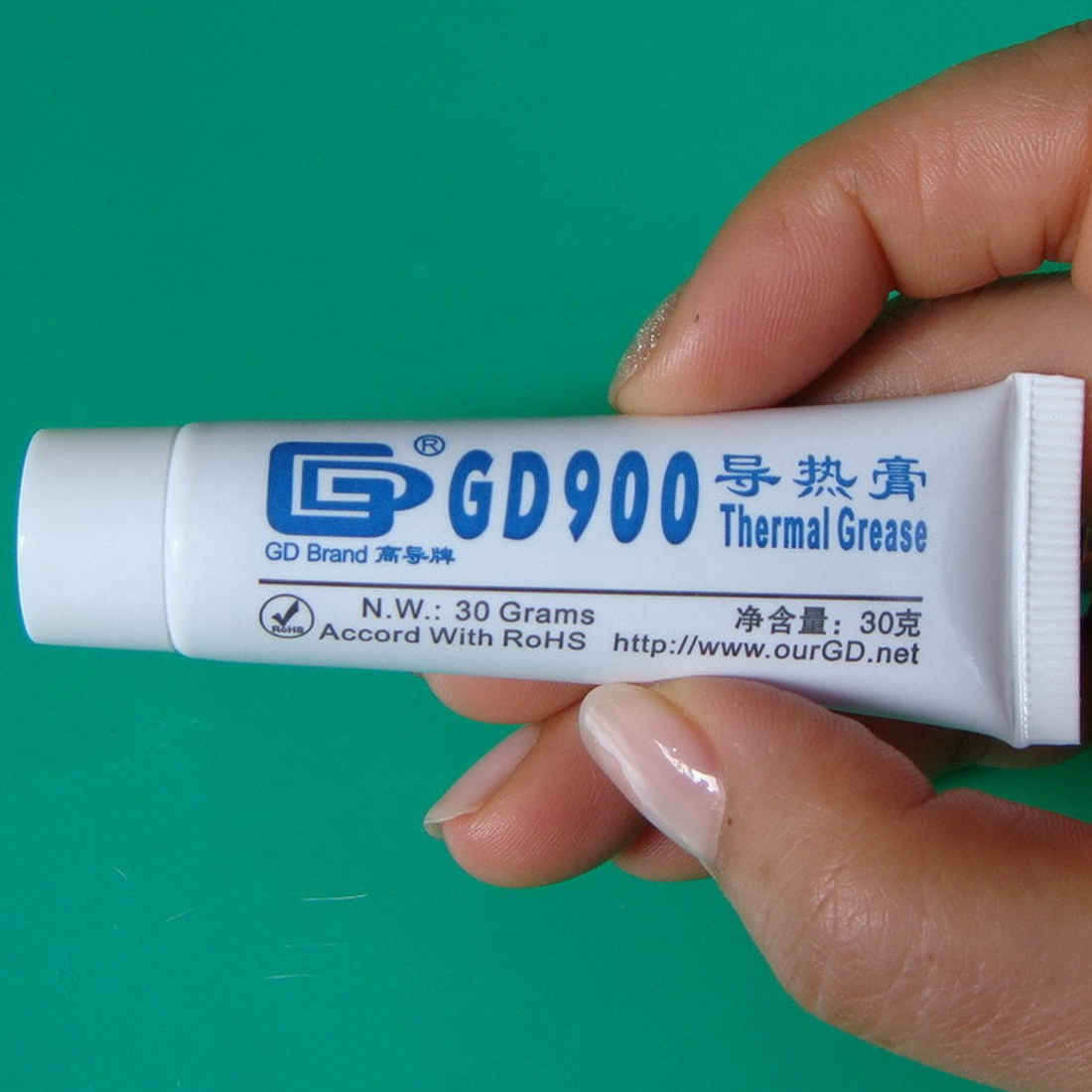 30g High Performance Grey GD900 Thermal Grease Paste Compound Silicone For Computer Desktop CPU Heat Sink
