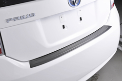 SUS304 Stainless Steel Rear Scuff Sill Trim Car Styling Cover Accessories for Toyota Prius 30 ZVW30 2010-2015