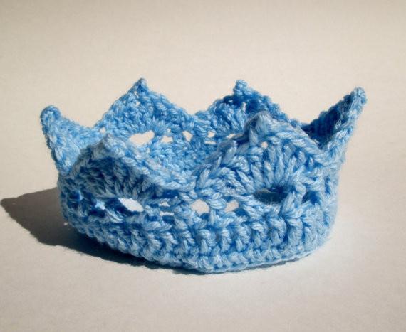 Nouveau Né Bébé Cheveux Bande Crochet Couronne