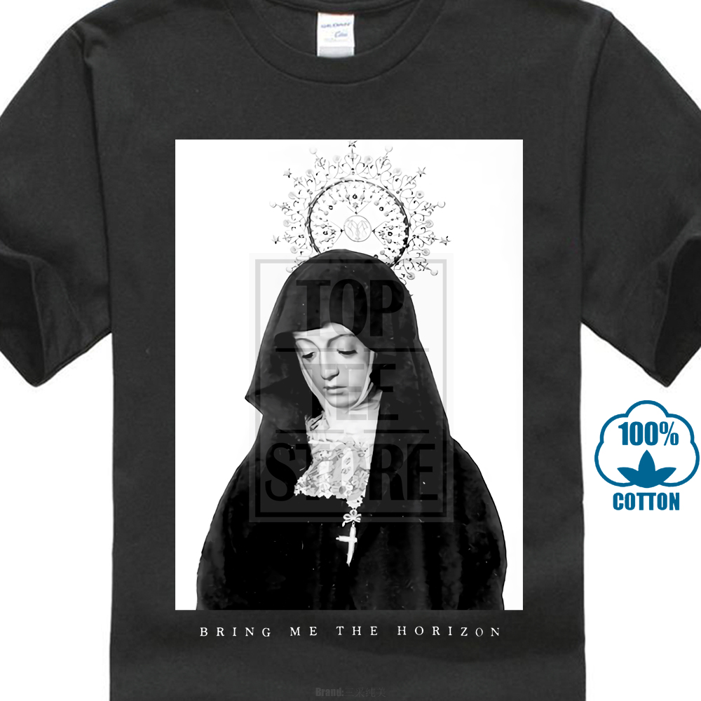 Bring Me The Horizon Men'S Nun T Shirt Black