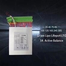 Lifepo4 Placa de equilibrio activo Lifepo4 Li ion 3A, balanceador BMS, ecualizador de transferencia de energía 3S 4S 7S 8S 10S 13S 16S 24S 30S