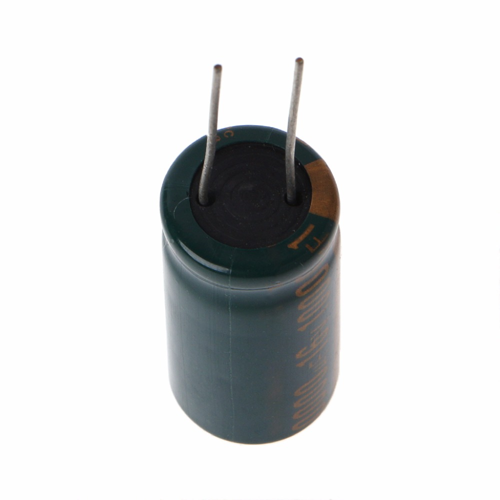 16V 10000uF Capacitance Electrolytic Radial Capacitor High Frequency Low ESR