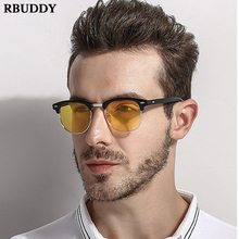 Vintage Men Polarized driver driving glasses Sunglasses Fashion Unisex Creative lentes de sol mujer sunglasses UV400