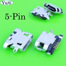 YuXi Micro usb jack socket connector for Lenovo A850 A800 S898t S8 S820 S880 P780 A820 S820 P770 A800 S920 a670t P708 S850E s696(China)