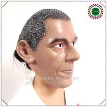 Free shipping U.S. President Barack Obama Celebrity Face Mask Latex Face Mask Obama Face Head Mask For Cosplay Funny Party Mask