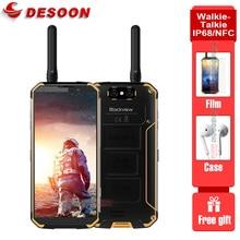 Walkie Talkie Blackview BV9500 Pro Handy 4G Android 8,1 6GB + 128GB Smartphone 10000mAh batterie NFC Drahtlose Lade Telefon