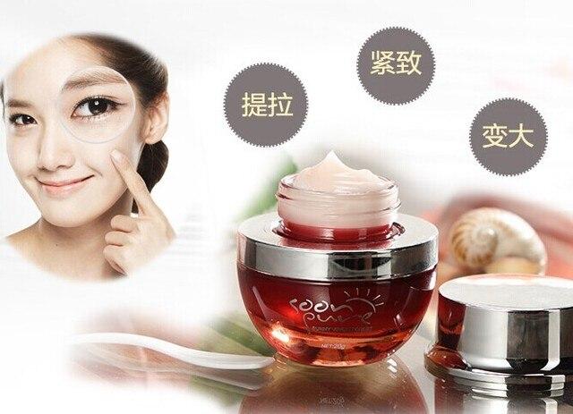 Cuidado facial Ginseng Rojo caracol crema de ojos cuidado de la piel Anti ojeras cuidado de los ojos Ojeras Anti Arrugas Anti-Envejecimiento hidratante