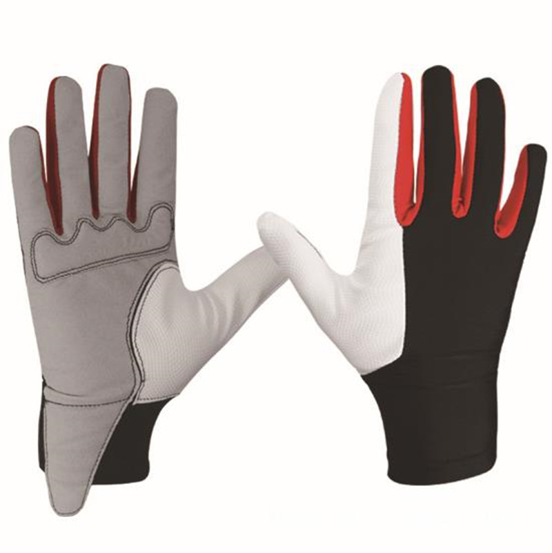 Anti-slip Riding Gloves Soft Horse Sports Climbing Entertainment Equipment For Man Pu Material Safe