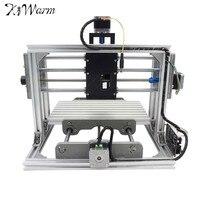 KiWarm Mini DIY CNC 2417 USB Desktop Engraver Machine Kit Pcb Milling Machine Cutter Metal Wood