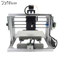 KiWarm Mini DIY CNC 2417 USB Desktop Engraver Machine Kit Pcb Milling Machine Cutter Metal Wood