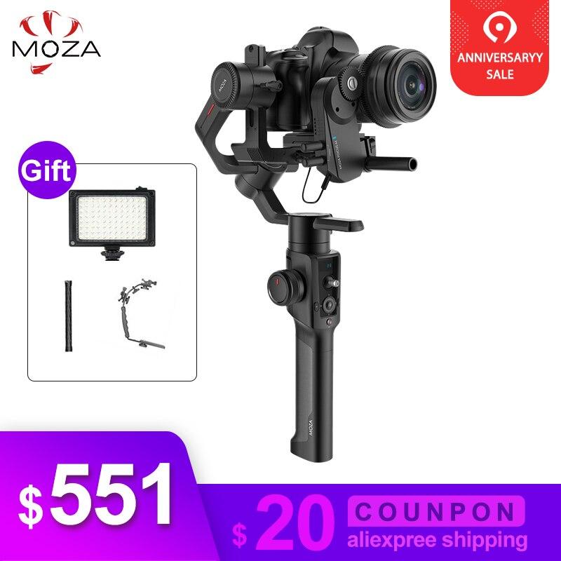Gudsen Moza Air 2 DSLR stabilisateur de caméra 3 axes cardan de poche stabilisateur pour Sony Canon Nikon GH4 PK DJI Ronin S Moza Air 2