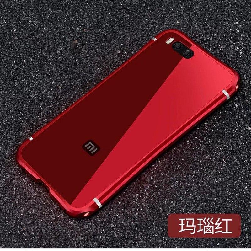 Antichoc Robuste Téléphone Cas Pour Xiaomi MI Note 3 Note3 Métal cadre + PC Retour Couvre Pour MI 6 Cas Anti-frapper DU MI6 de protection