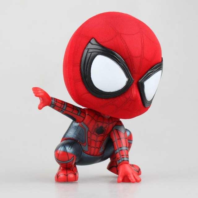 Huong Anime Dos Desenhos Animados Homem Aranha Mini Homem Aranha