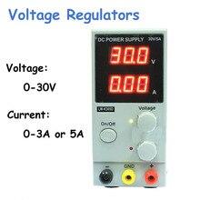 Voltage Regulatros 30V 10A Regulated Adjustable DC Power Supply Single Phase LW-K3010D