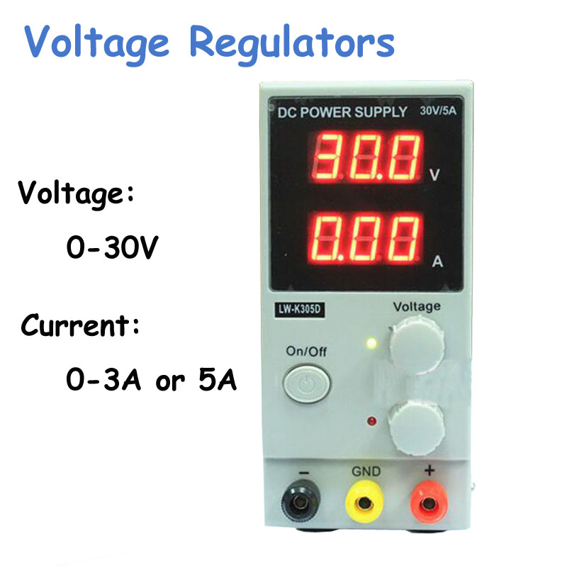 Wholesale Regulated Adjustable DC Power Supply Single Phase 30V10A US/EU/AU Plug LW-K3010D cps 6011 60v 11a digital adjustable dc power supply laboratory power supply cps6011