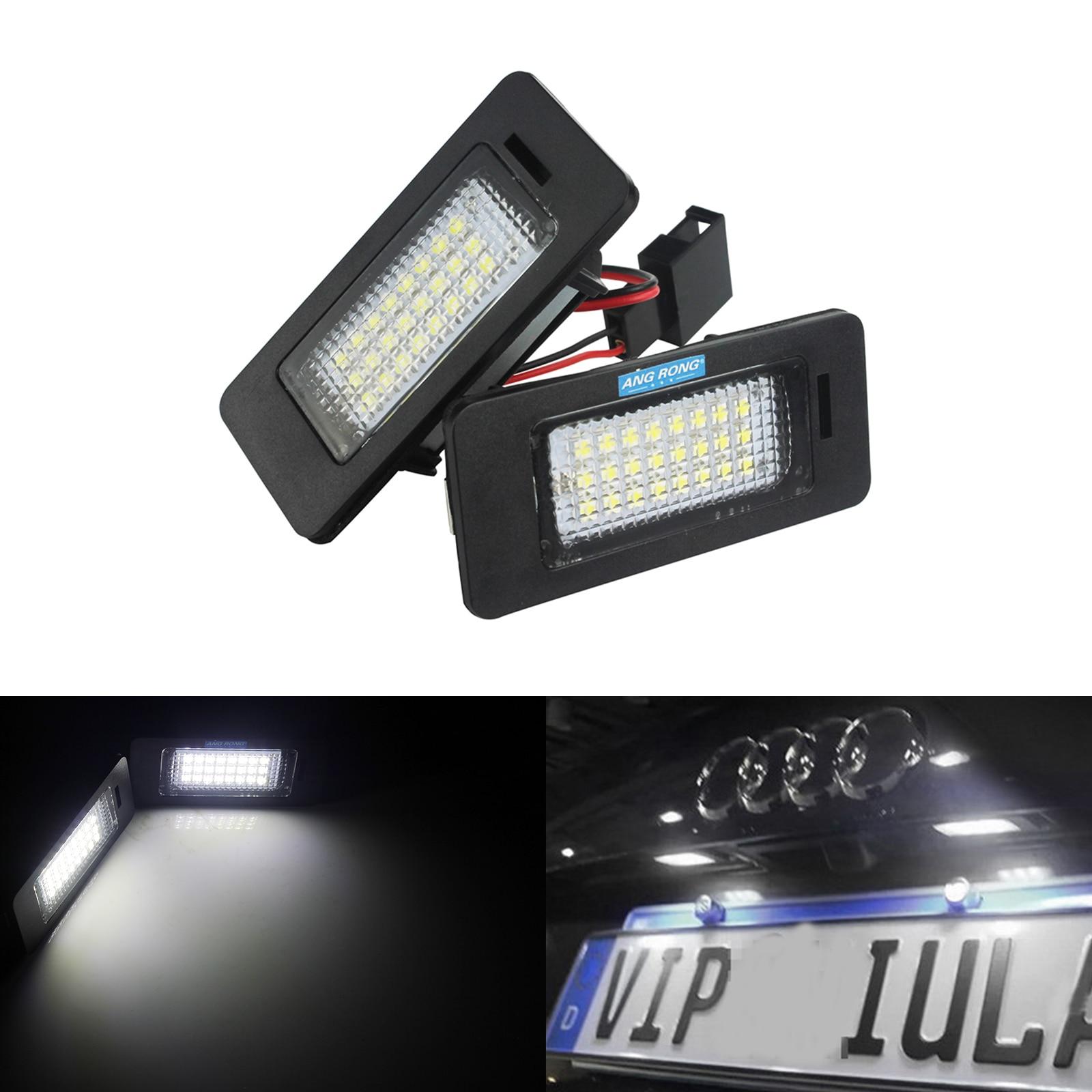 1x Porsche Panamera Bright Xenon White LED Number Plate Upgrade Light Bulb