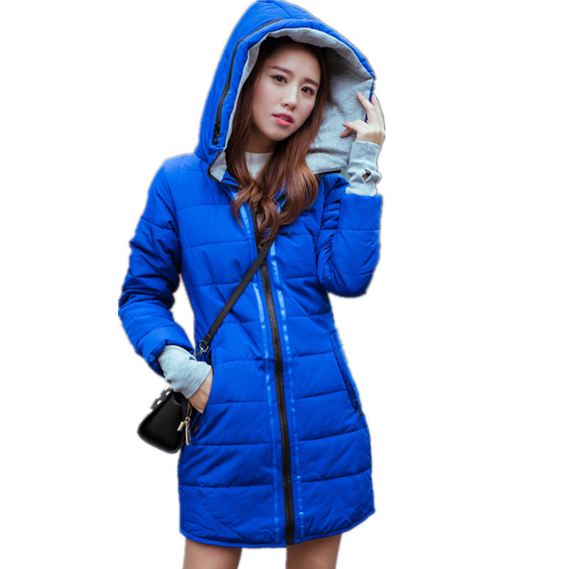 Fashion Loose Casual Cotton Padded Parka Winter Jacket Medium-long Outerwear Women Jacket Girls Parka Overcoat Plus Size TT2967 winter thickening women parkas women s wadded jacket outerwear fashion cotton padded jacket medium long loose casual parka c1142
