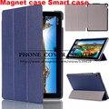 Soporte magnético de la cubierta de cuero de la pu caso para asus zenpad 10 Z300CL Z300CG Z300C Z300 Z300CNL tablet funda casos + pantalla protector