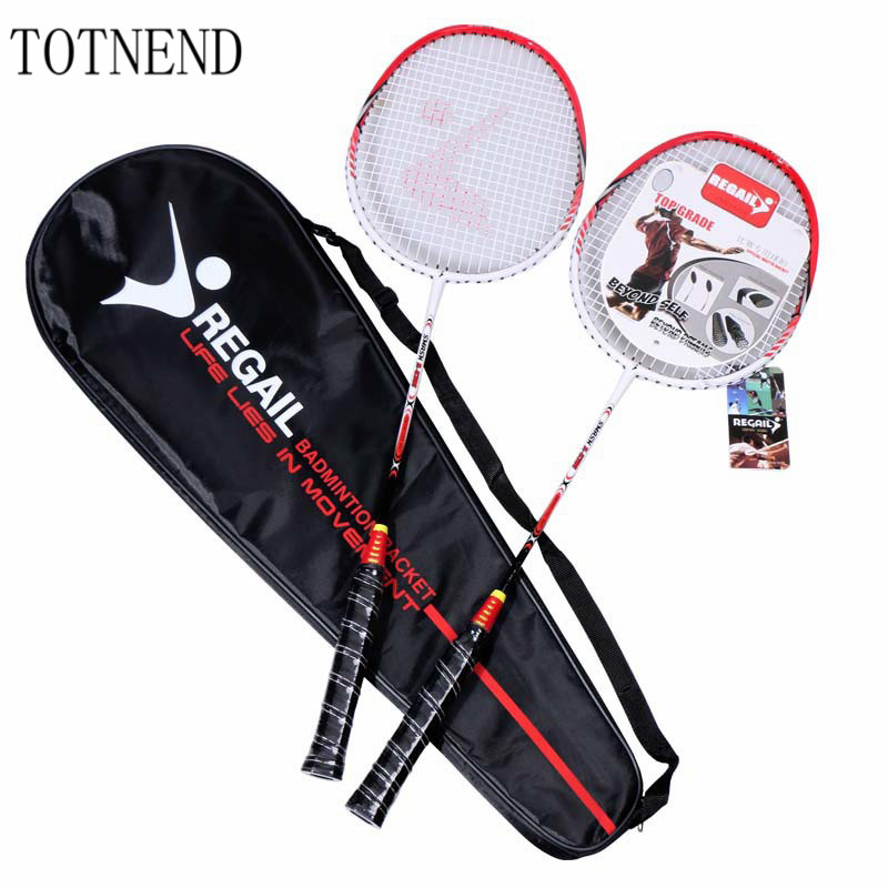TOTNEND High Quality Aluminum Alloy Shock Absorption One Upgrade Badminton Racket