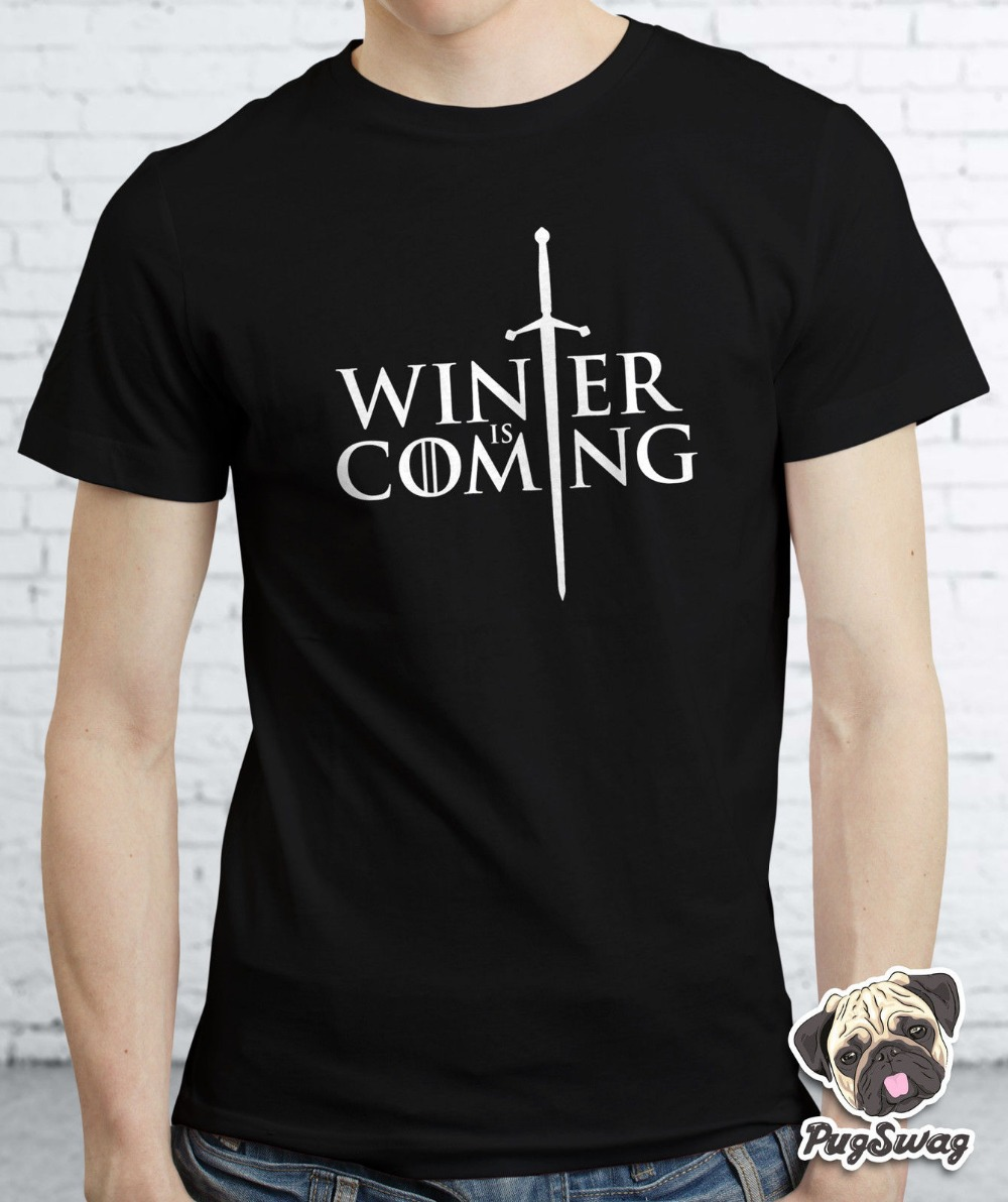 Game Of Thrones Inspired Winter Is Coming Stark T shirt TShirt Tee Shirt Unisex More Size and Colors-A437